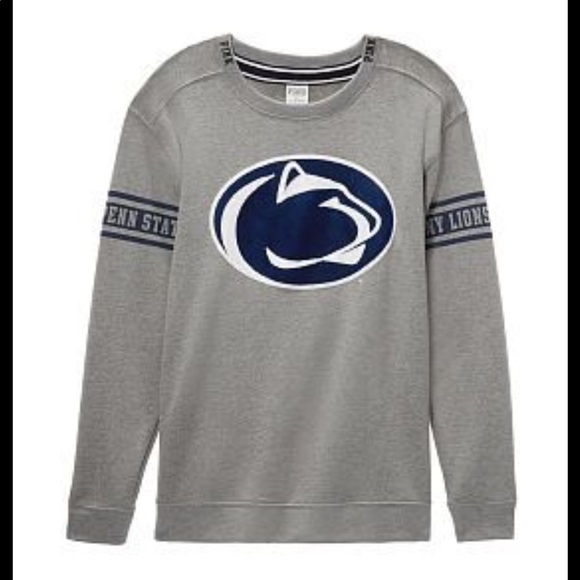 PINK Victoria's Secret Tops - VS PINK Penn State 🦁 PSU Velvet Bling Sweatshirt